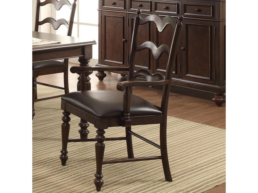 Winners Only CambridgeCountry Ladder Back Arm Chair