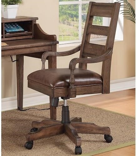 Boulevard Home Furnishings 2018 Cyber Monday Turnkey Harrison Flats Office Arm Chair