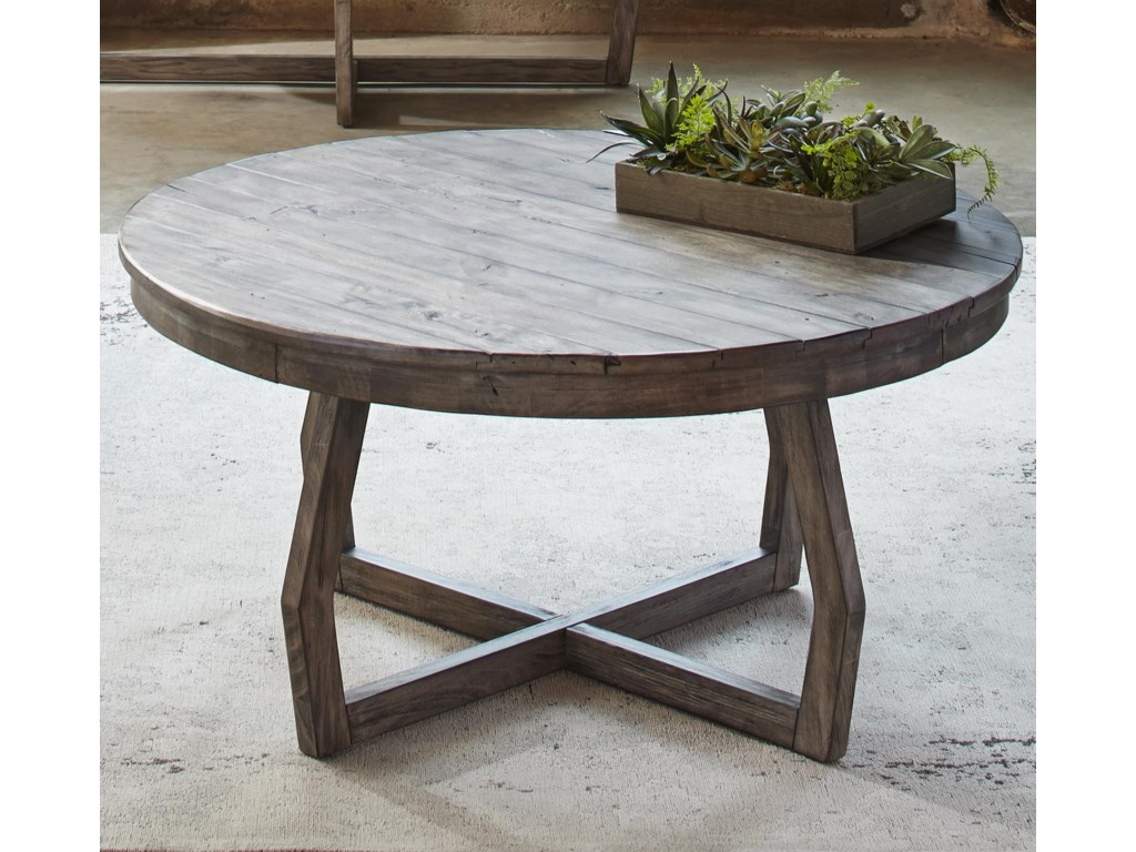 Liberty Furniture Hayden Way Round Cocktail Table