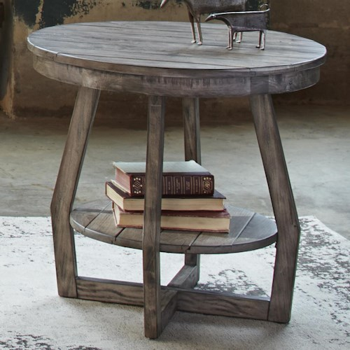 Liberty Furniture Hayden Way End Table with Shelf