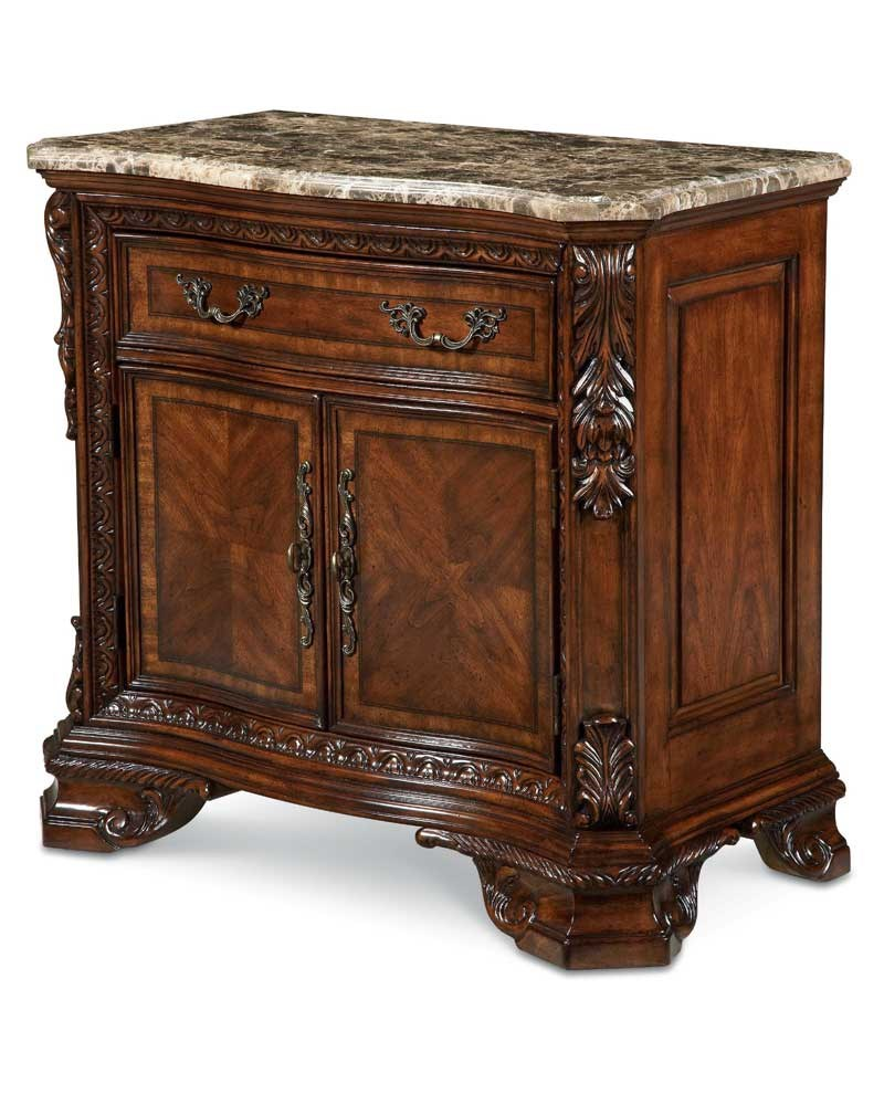 A.R.T. Furniture Inc Old World Door Nightstand With Secret Tray