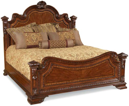 A.R.T. Furniture Inc Old World Queen-Size Old World Estate Bed