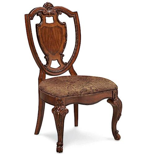 Belfort Signature Overture Shield Back Side Chair