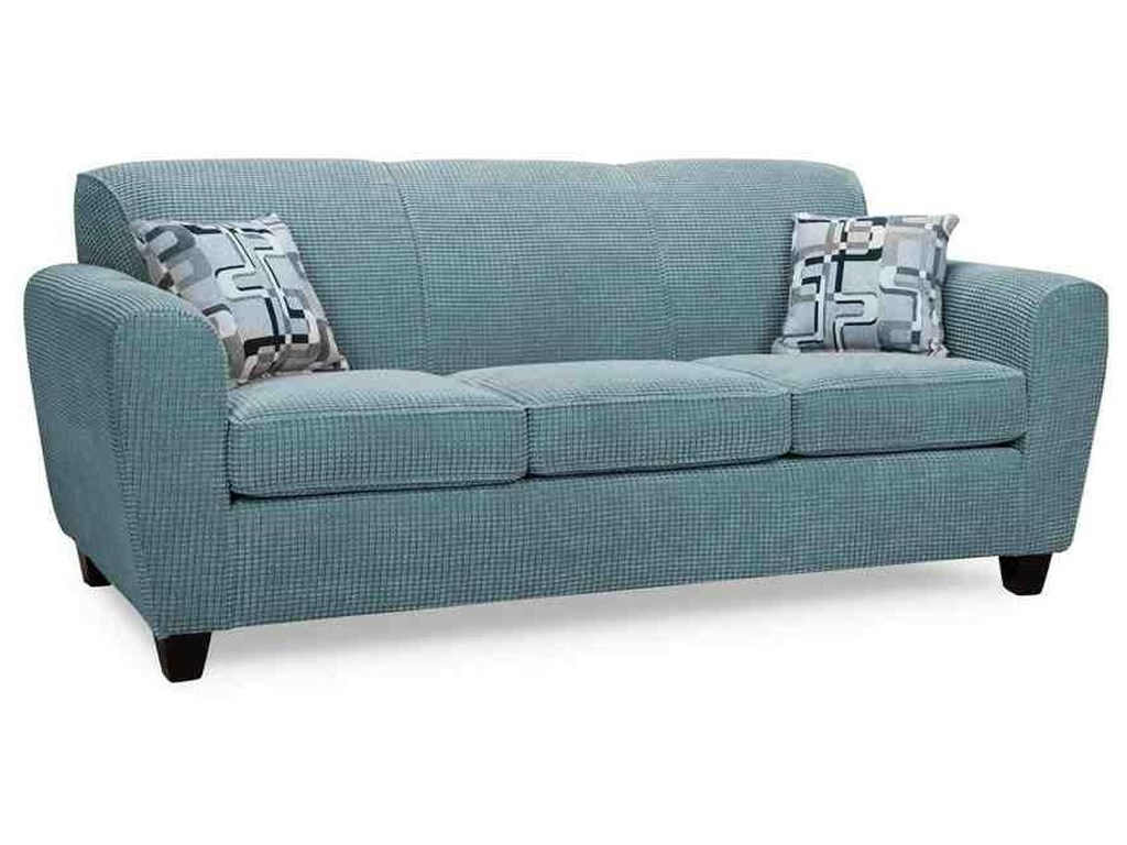 A Class Upholstery 2860Canadian Made Sofa