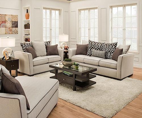 Simmons Upholstery Canada 2016 Linen Sofa