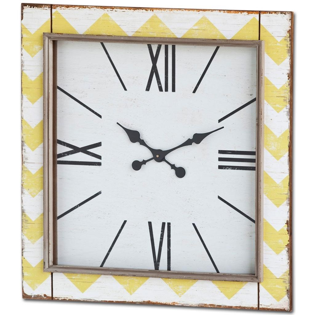 Exceptional Ruby Gordon Accents Ruby Gordon Accents Square Clock
