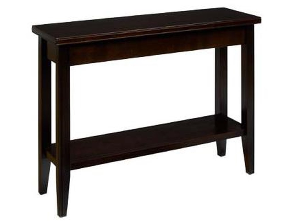 AA Laun Tribeca Condo Sofa Table with Shelf