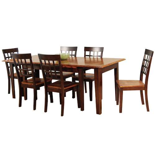 AAmerica Bristol Point 7Pc Dinette