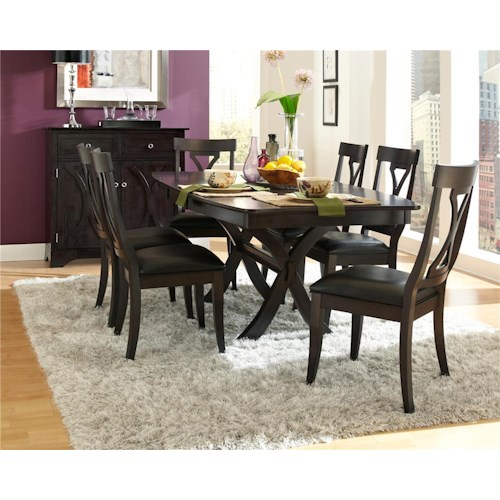 AAmerica Midtown 5Pc Table and Chair Set