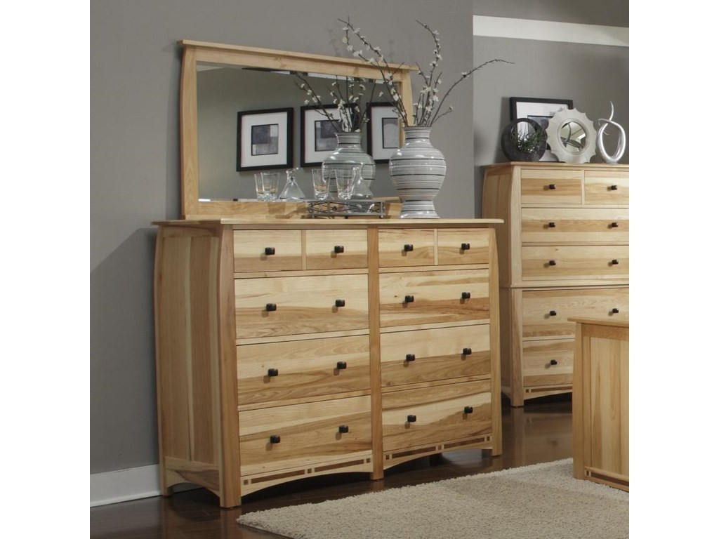 AAmerica AdamstownDresser and Mirror