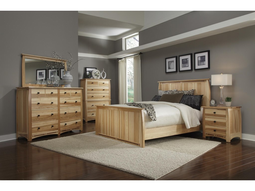 AAmerica Allentown4-Piece Queen Bedroom Group