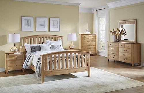 AAmerica Alderbrook King Bedroom Group