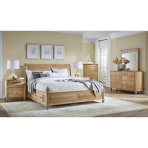 AAmerica Alderbrook California King Bedroom Group