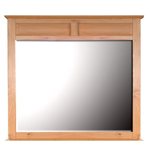 AAmerica Alderbrook Panel Dresser Mirror