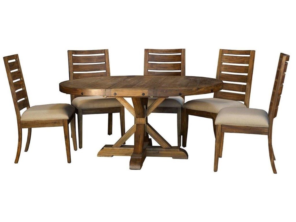 AAmerica AnacortesPedestal Dining Table