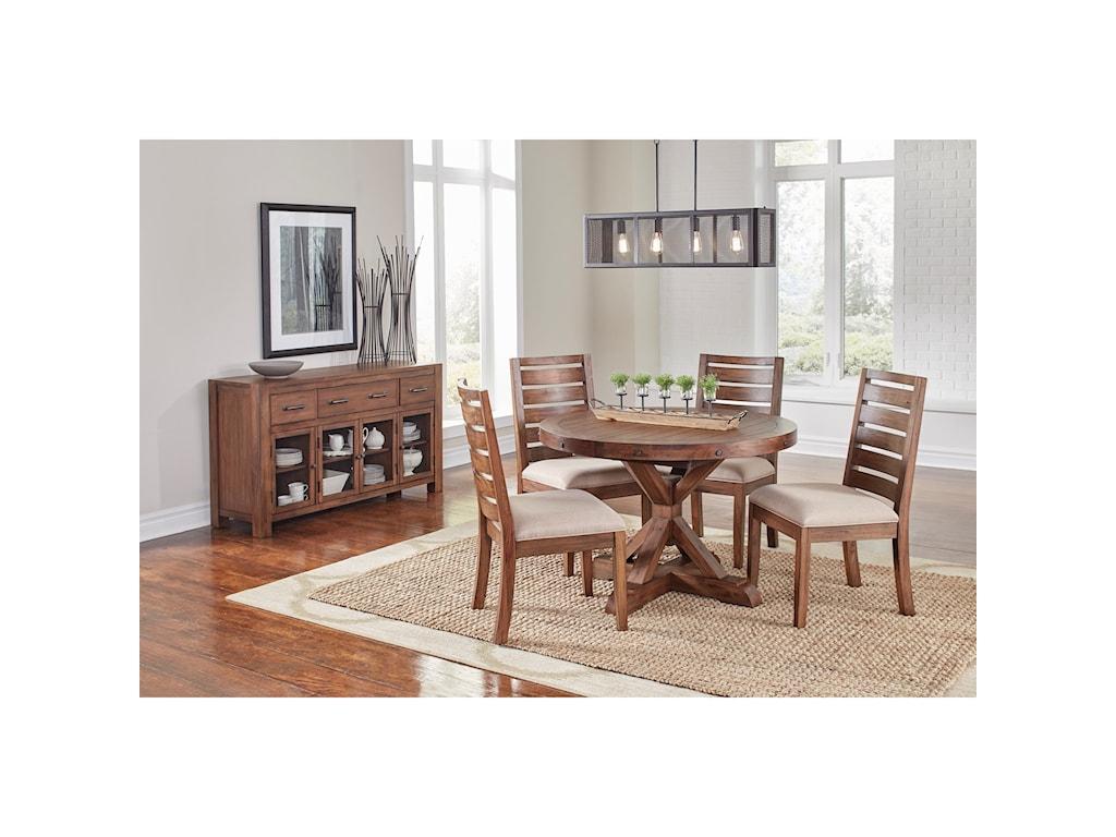 AAmerica AnacortesPedestal Dining Table