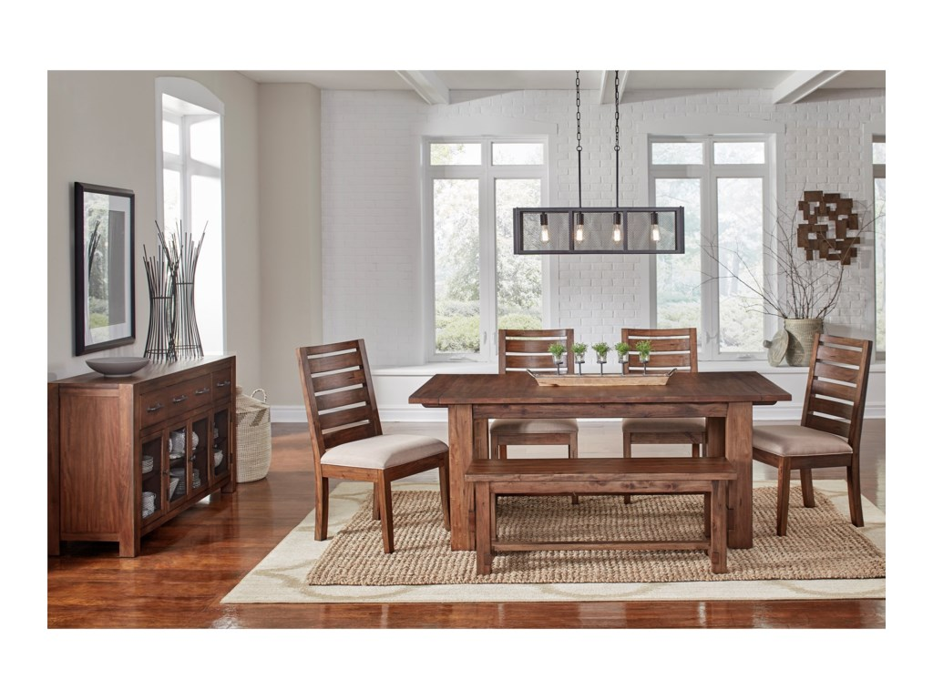 AAmerica AnacortesTrestle Dining Table