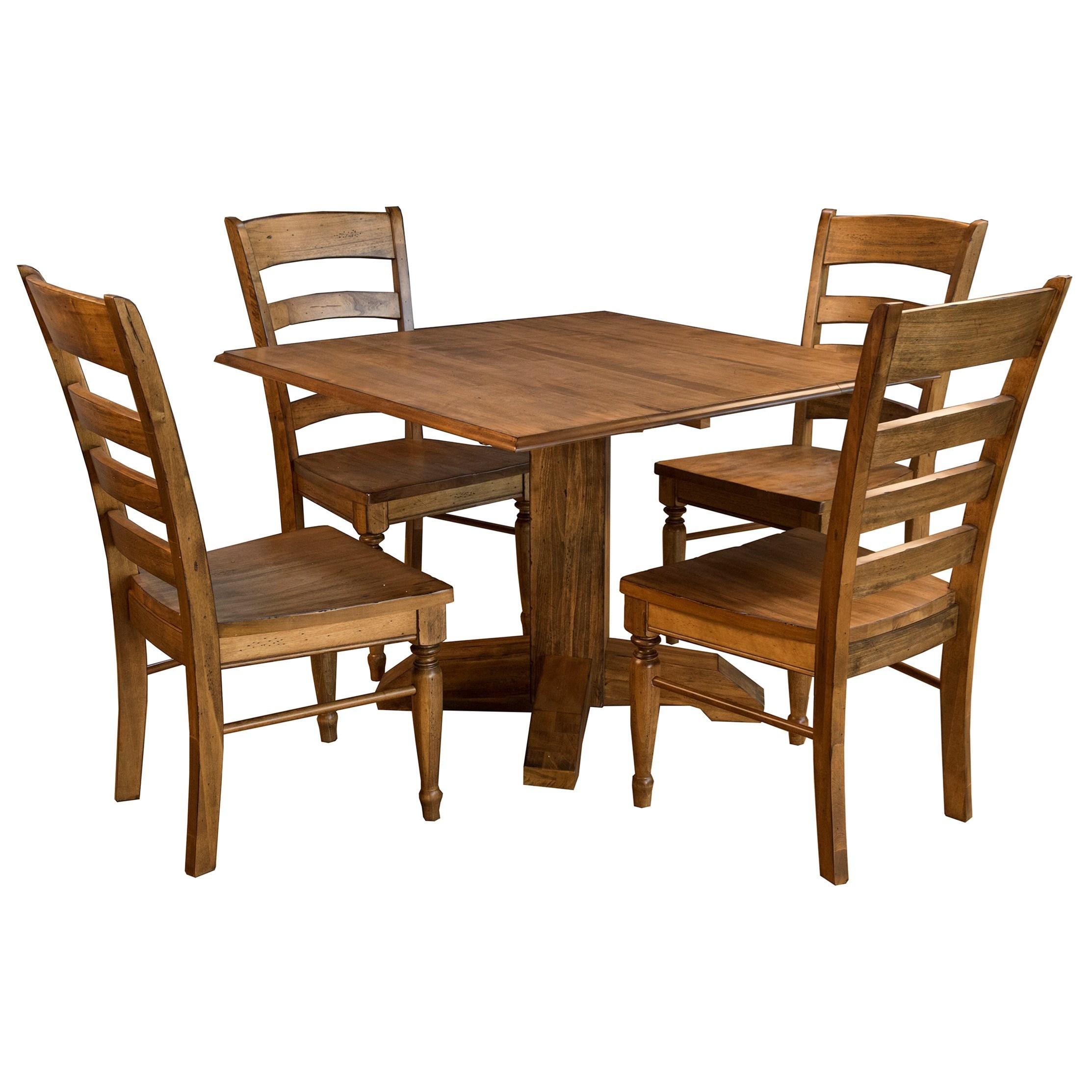 AAmerica Bennett5 Piece Square Dining Set ...
