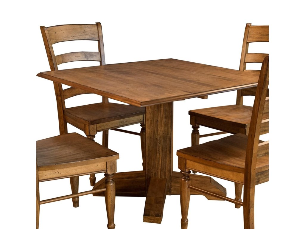 AAmerica BennettSquare Drop Leaf Table