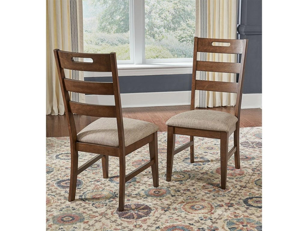 AAmerica Blue MountainLadderback Side Chair