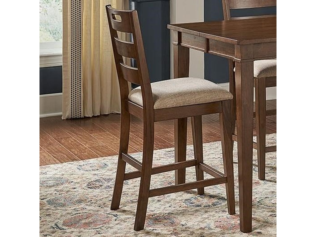 AAmerica Blue MountainLadderback Stool