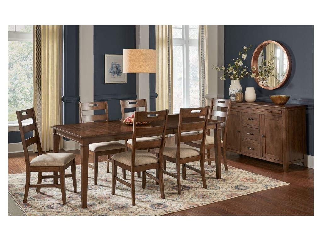 AAmerica Blue Mountain7-Piece Table and Chair Set