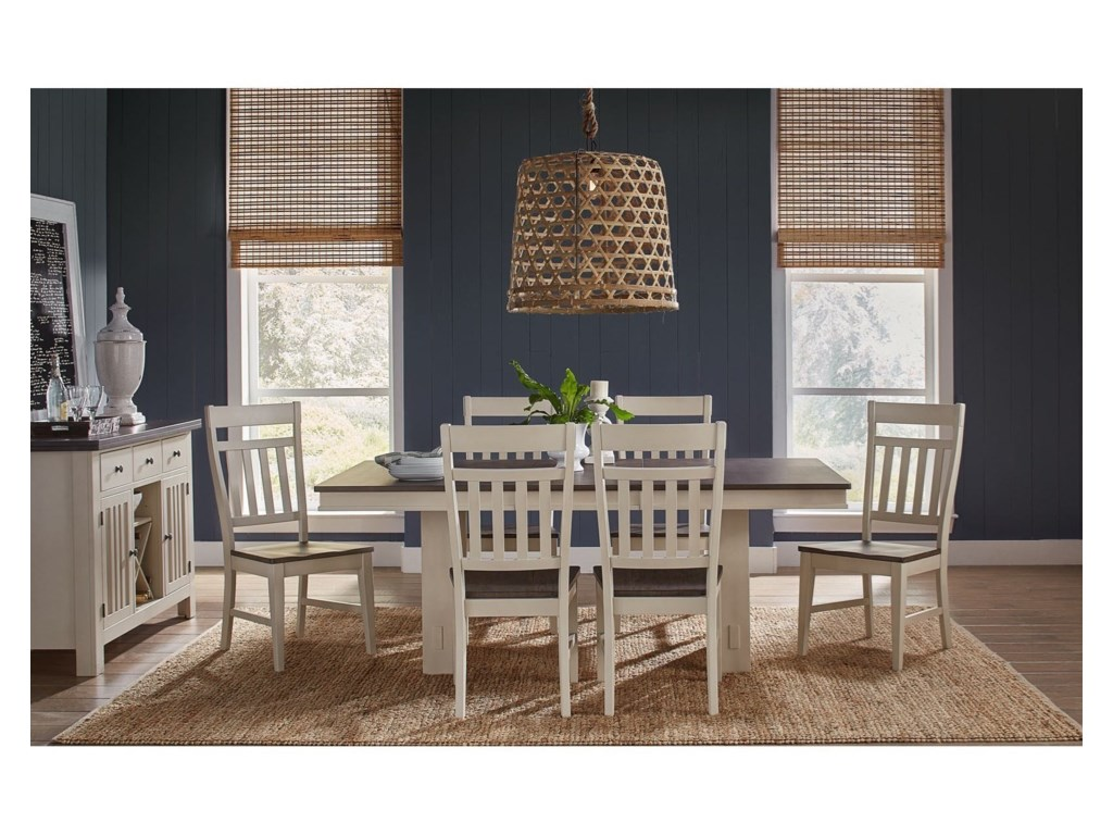 AAmerica Bremerton7-Piece Table and Chair Set