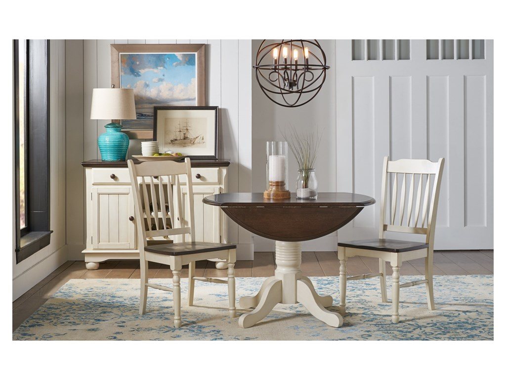 AAmerica British Isles - CO3 Piece Dining Set