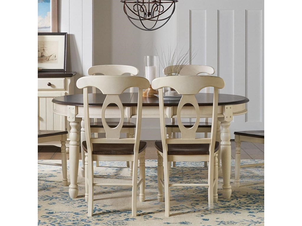 AAmerica British Isles - COOval Leg Table