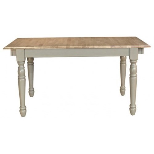 AAmerica British Isles Rectangular Top Dining Leg Table with Butterfly Leaf
