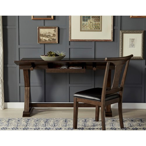 AAmerica Brooklyn Heights Flip Top Dining Table With Storage