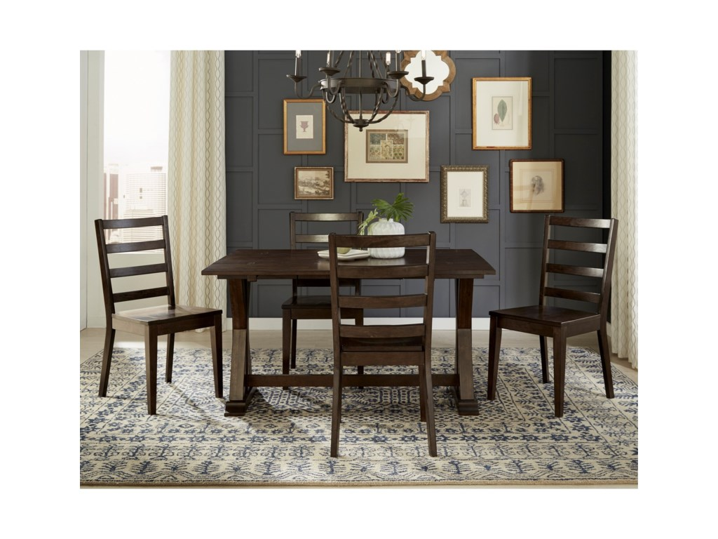Aamerica Brooklyn Heights Flip Top Dining Table With Storage Conlin S Furniture Dining Tables