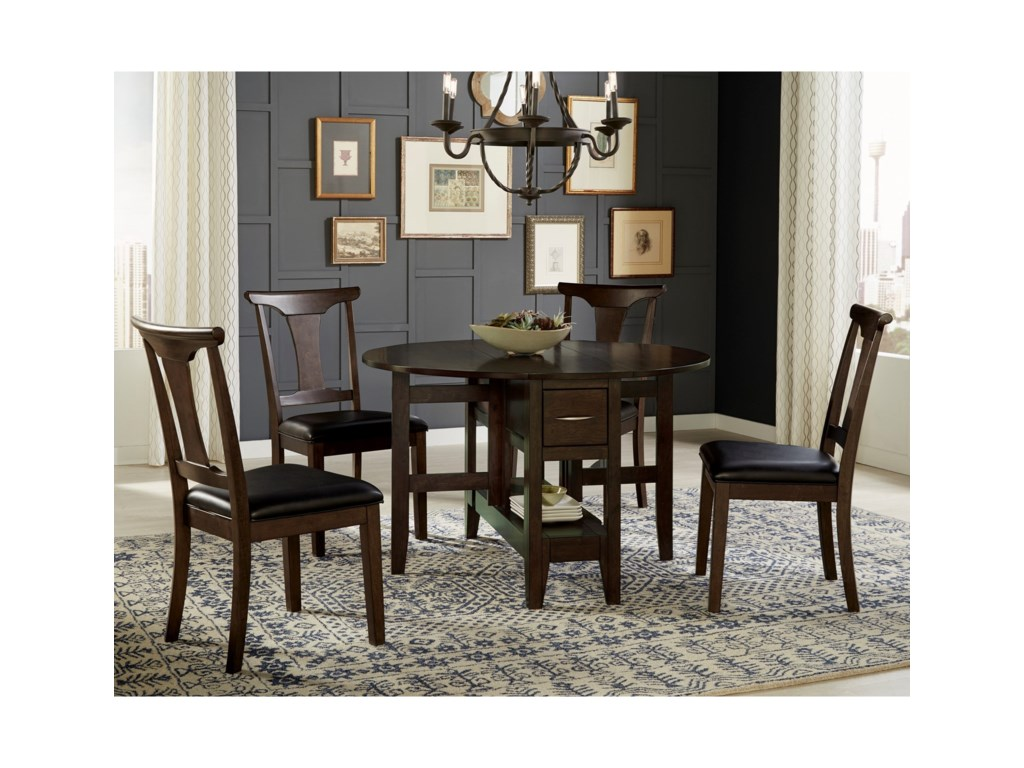 Aamerica Brooklyn Heights5 Piece Gate Leg Dining Set