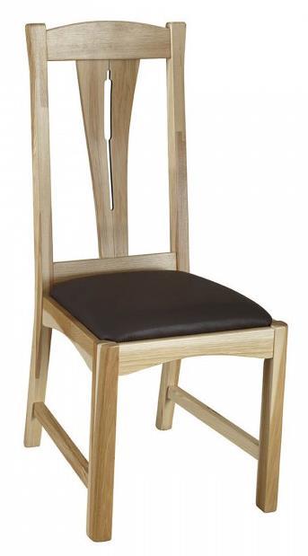 Slat Back Comfort Side Dining Chair