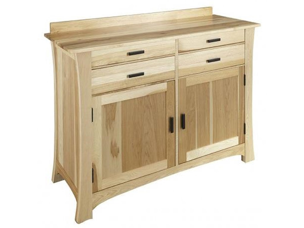 AAmerica Cattail Bungalow4 Drawer 2 Door Sideboard