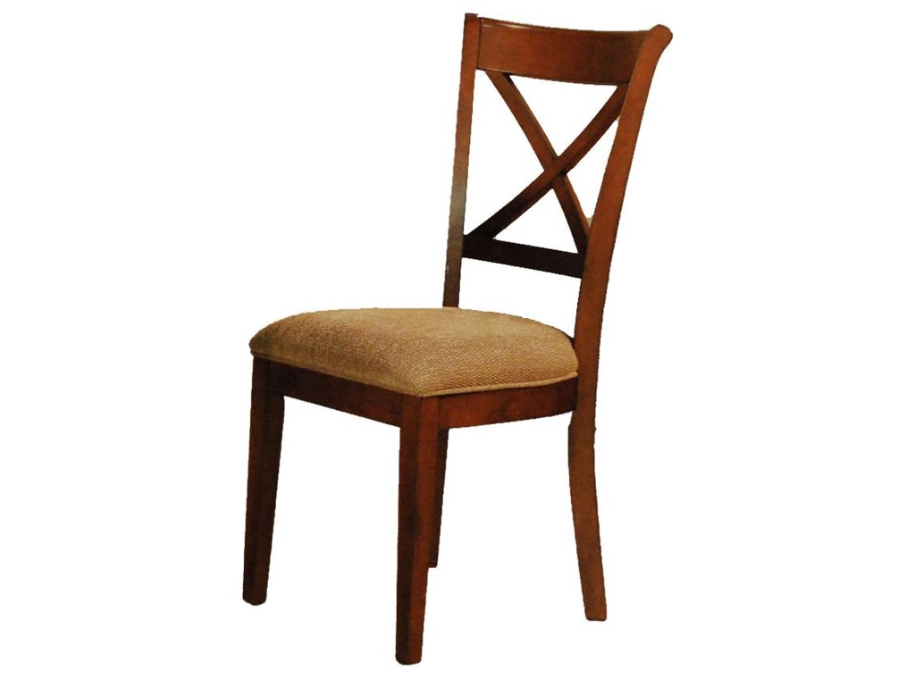 AAmerica De SotoX-Back Side Chair