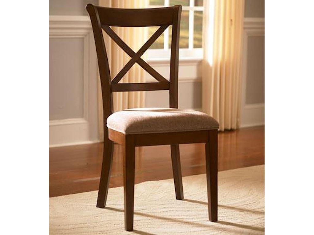 AAmerica DesotoX-Back Side Chair