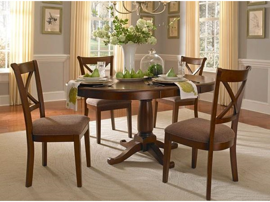 AAmerica DesotoOval Pedestal Table