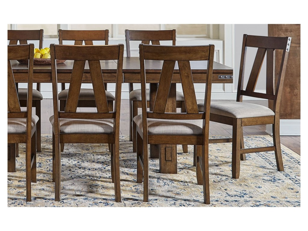 AAmerica Eastwood DiningUpholstered Side Chair