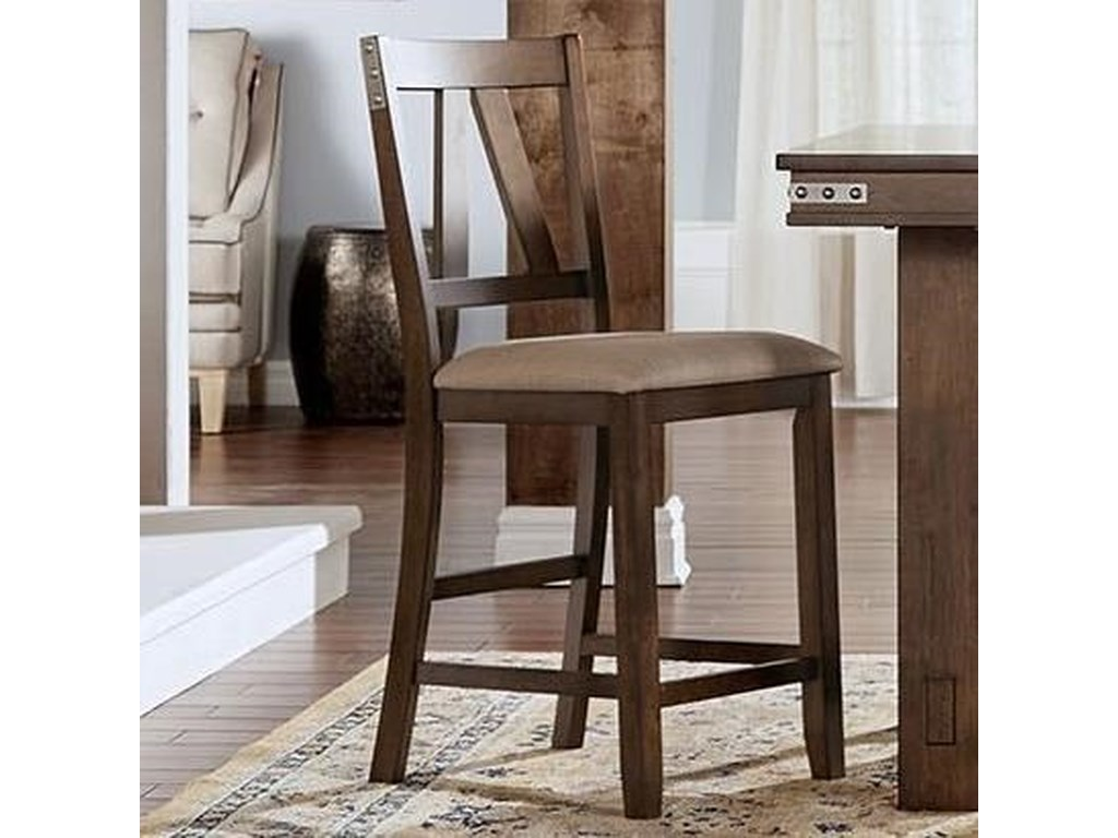 AAmerica Eastwood DiningUpholstered Counter Stool