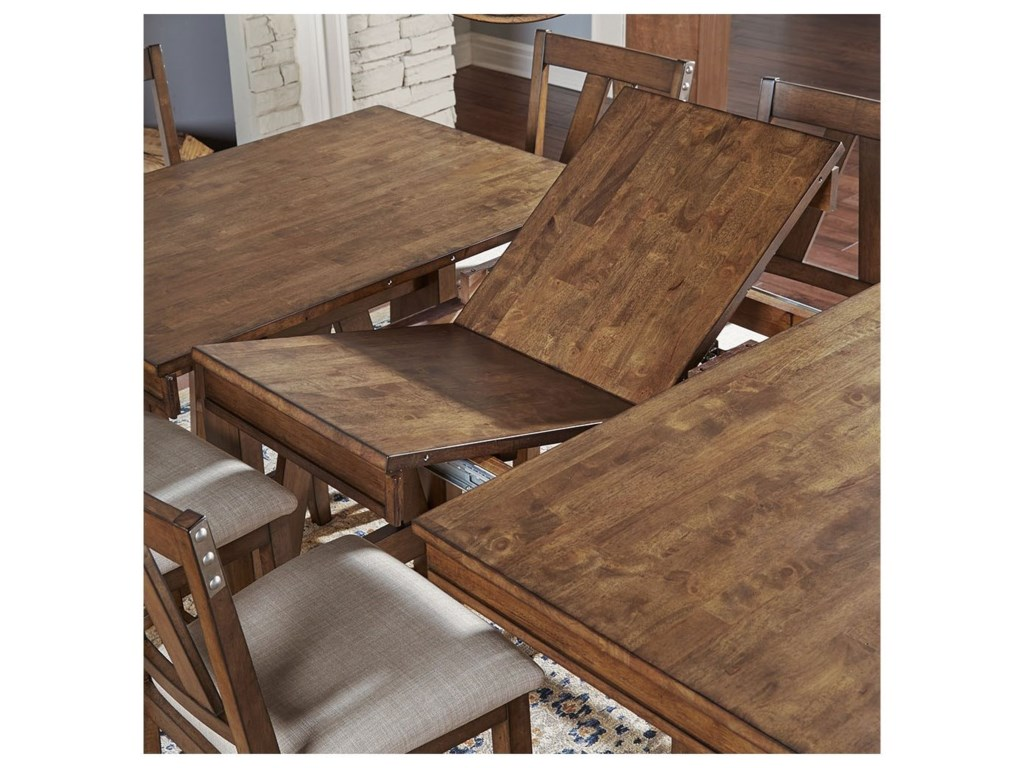 AAmerica Eastwood DiningCounter Height Table And 6 Side Chairs