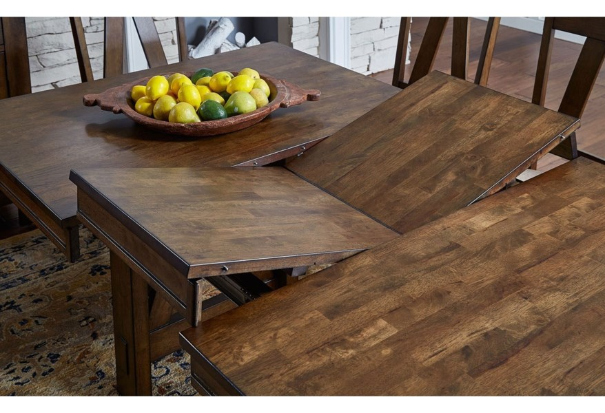 Dining Solid Wood Counter Height Table