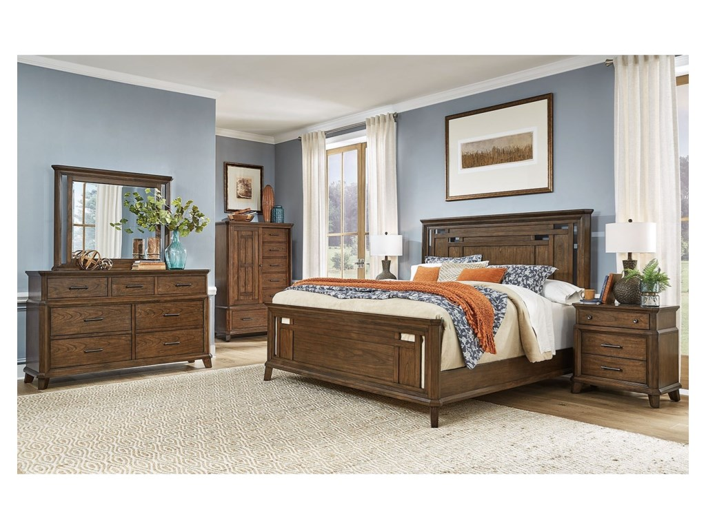 AAmerica Filson CreekKing Bedroom Group