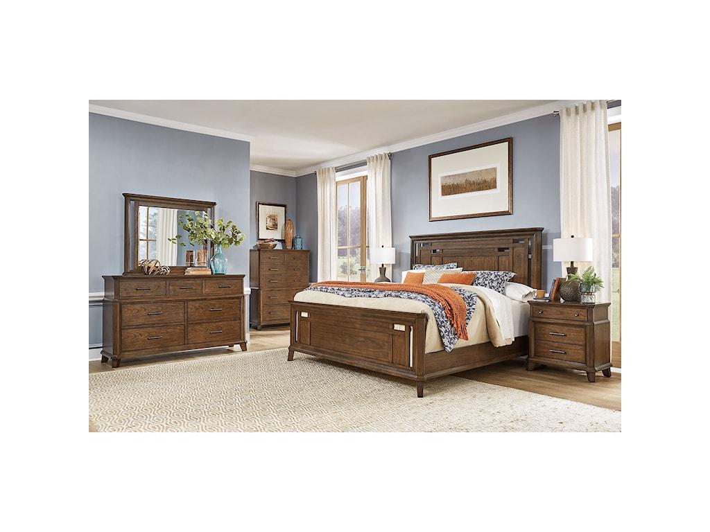 AAmerica Filson CreekKing Bedroom Group
