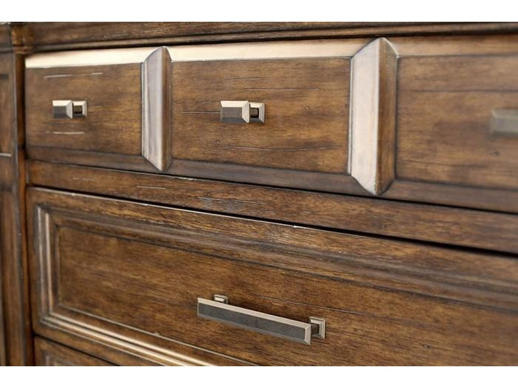 AAmerica Gallatin6 Drawer Tall Chest