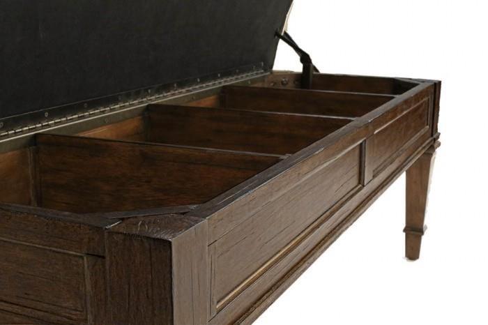 AAmerica GallatinUpholstered Storage Bench