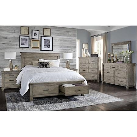 Cal King Storage Bedroom Group