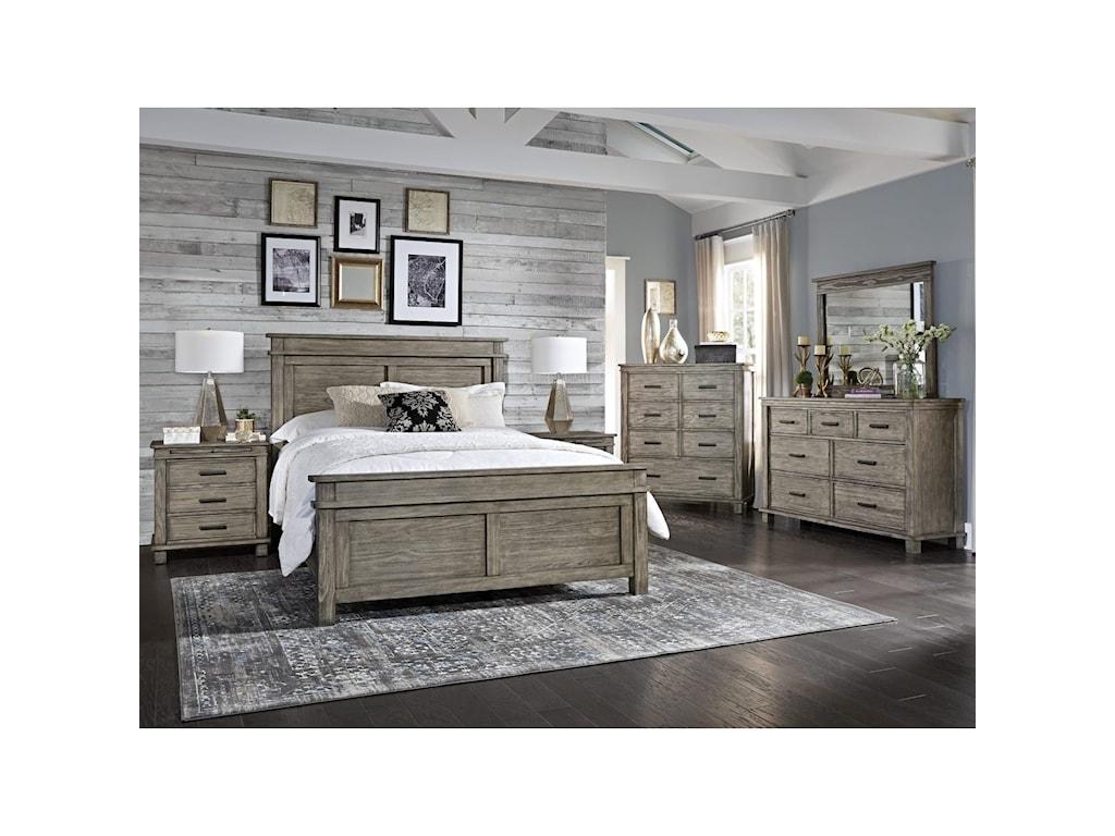 AAmerica Glacier PointKing Bedroom Group