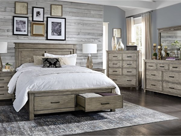 Queen Storage Bedroom Group