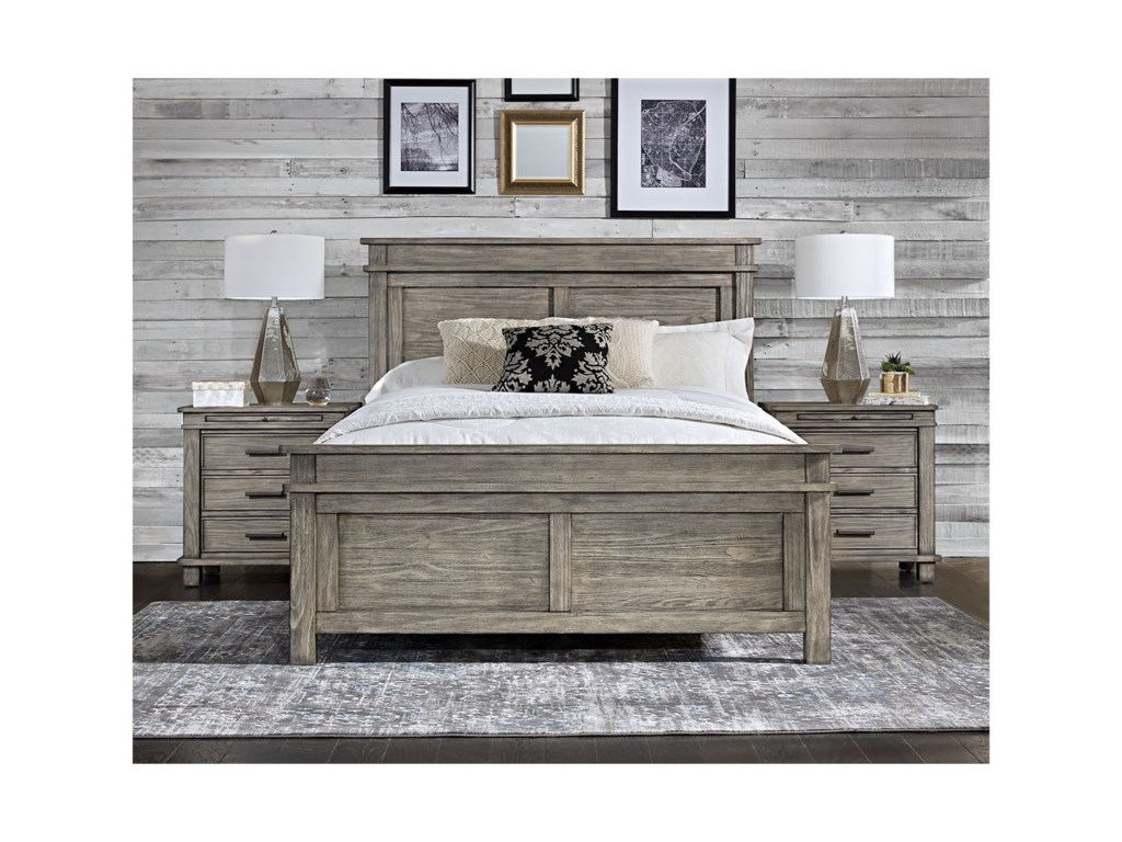 AAmerica Glacier PointQueen Panel Bed